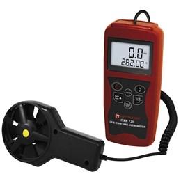 Termo Anemômetro Digital Portátil Instrutemp