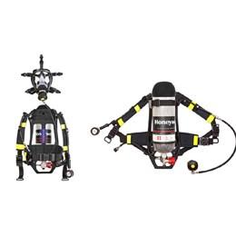 Equipamento Autônomo com Respirador Facial e Cilíndro Honeywell