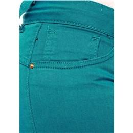 Calça jeans feminina Legging  226588 verde 44