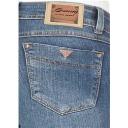 Calça jeans feminina boot cut  232796 42