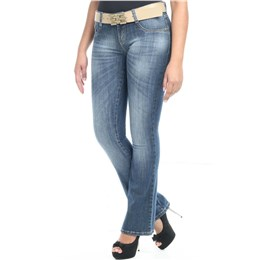 Calça jeans feminina Flare  233921 44