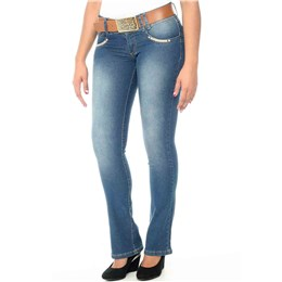 Calça jeans feminina Flare  234125 44