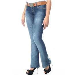 Calça jeans feminina Flare  234638 42