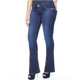 Calça jeans feminina Flare  234788 44