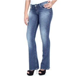 Calça jeans feminina Flare  234866 40