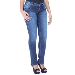 Calça jeans feminina boot cut  235016 40