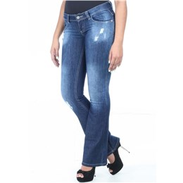 Calça jeans feminina Flare  235105 38