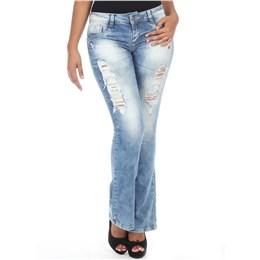 Calça jeans feminina Flare  235900 44