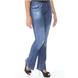 Calça jeans feminina Flare  236116 38