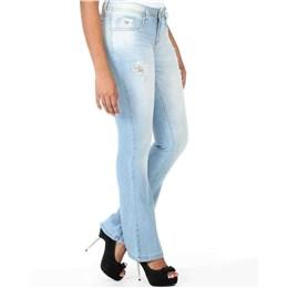 Calça jeans feminina Flare  236708 40