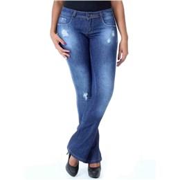 Calça jeans feminina Flare  236709 44
