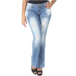 Calça jeans feminina Flare  236710 44