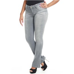Calça jeans feminina flare  237377 38
