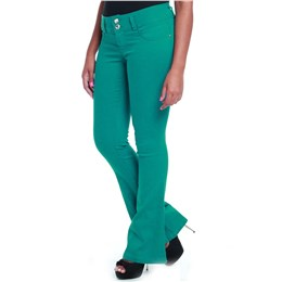 Calça jeans feminina flare  237602 44