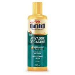 Ativador tratamento niely gold 250ml cachos