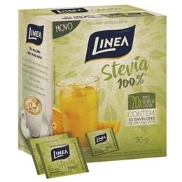 Adoçante Linea Stevia Po Sachê (Emb. contém 6 Pacotes com 50un. de 600mg cada)