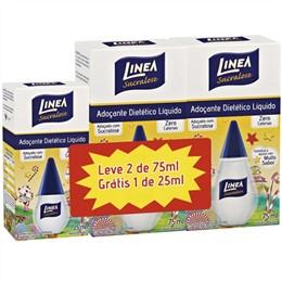 Adoçante Linea Sucralose Líquido (Emb. contém 2un. de 75ml + 1un. de 25ml Grátis)