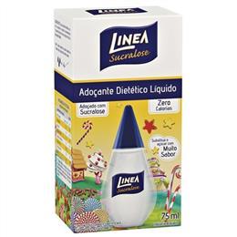 Adoçante Linea Sucralose Líquido (Emb. contém 6un. de 75ml de cada)