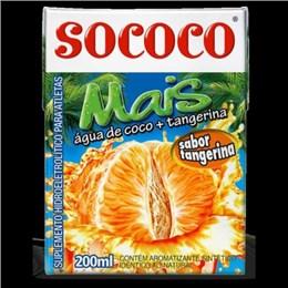 AGUA DE COCO SOCOCO MAIS 200ML TANGERINA