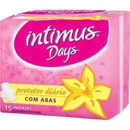 Absorvente Intimus Days Protetor Diário com Abas (Emb. contém 15un.)