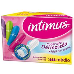 Absorvente Intimus Interno Médio (Emb. contém 8un.)