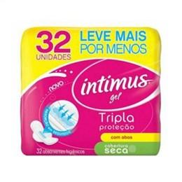 Absorvente Intimus Gel Tripla Proteção Suave com Abas (Emb. contém 32un.)