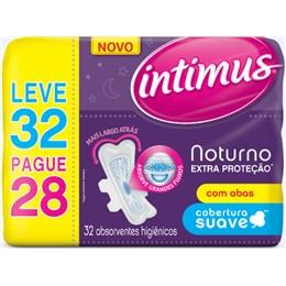 Absorvente com abas intimus gel c/32 extra proteção suave