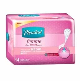 Absorvente Plenitud Femme Adulto Protetor Médio (Emb. contém 14un.)
