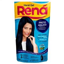 Alisante Creme Hene Rena Gel Preto Azulado (Emb. contém 1un. de 180g)