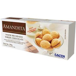 Amandita Mirabel Chocolate Lacta (Emb. contém 1un. de 200g)