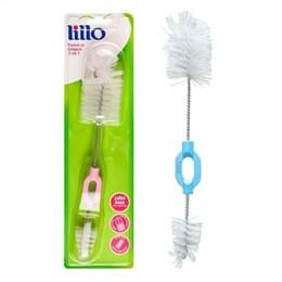 Escova  de Limpeza Lillo   Para Mamadeira 2 Em 1 (Emb. contém 2un.)