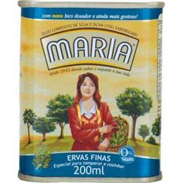 Azeite Composto Maria Ervas Finas (Emb. contém 1un. de 200ml)