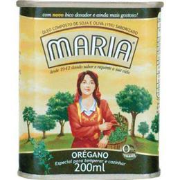 Azeite Composto Maria Orégano (Emb. contém 1un. de 200ml)