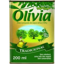Azeite Composto Olívia Tradicional (Emb. contém 1un. de 200ml)