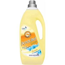 Amaciante de Roupas Amacitel Diversão Amarelo 2L