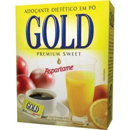 Adoçante Gold Aspartame Pó Sachê (Emb. contém 50un. de 800mg cada)