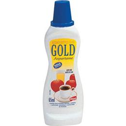 Adoçante Gold Aspartame Líquido (Emb. contém 1un. de 65ml )