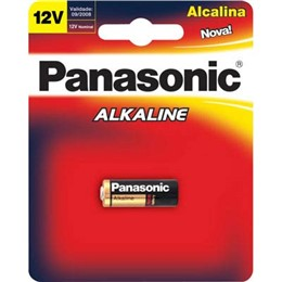 Bateria Alcalina 12v Alarme de Carro LRV08-1B (Emb. contém 1 Cartela com 1 un.) - Panasonic