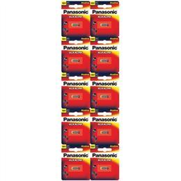 Bateria Panasonic Alcalina 12V Cartelão LRV08-1BT (Emb. contém 10 Cartelas com 1un. de cada)