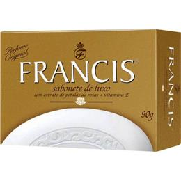Sabonete Francis Luxo Rosas de Versailles (Emb. contém 12un. de 90g cada)