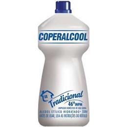 ALCOOL COPER.500ML 46° ETILICO