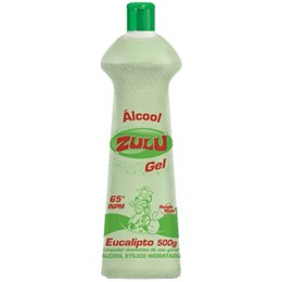 ALCOOL ZULU 12X500G GEL EUCAL.65° ETILICO UN1170