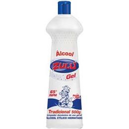ALCOOL ZULU 12X500G GEL TRADIC.65° ETILICO UN1170