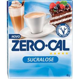 Adoçante Zero-Cal Sucralose Pó Sachê (Emb. contém 50un. de 0,8g cada)