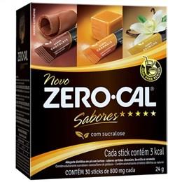 Adoçante Zero-Cal Sucralose Pó Sabores Stick 30X0,8g