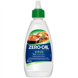 Adoçante Zero-Cal Stevia Liquido (Emb. contém 1un. de 80ml)