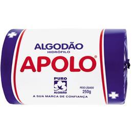 Algodão Apolo Hidrófilo (Emb. contém 4un. de 250g cada)