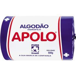 Algodão Apolo Hidrófilo (Emb. contém 2un. de 500g cada)