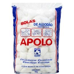 Algodão Apolo Bola (Emb. contém 20 Pacotes de 50g cada)