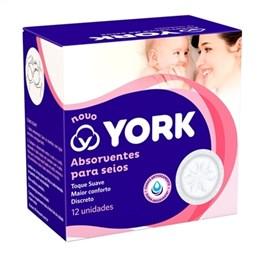 Absorvente para Seios York (Emb. contém 12un.)